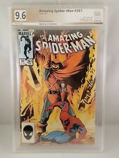 AMAZING SPIDER-MAN #261 PGX 9.6 Signed by Joe Rubenstein Like CGC 1985