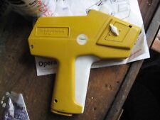 Monarch 1110 Price Labeler Gun with manual, labels, ink