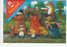 Royal Mail pre paid world wide aircard - The procession Illustration (Sealed)
