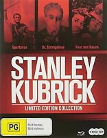 Stanley Kubrick Blu-Ray Collection - 3 DISC SET (2016, Blu-ray New)
