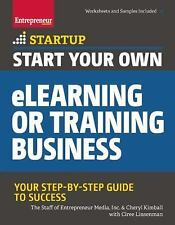 StartUp: Start Your Own ELearning or Training Business by Inc. Staff...