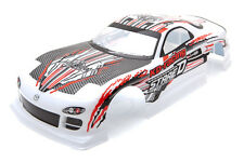 Rcg racing Mazda RX-7 STADE D corps Shell 190mm blanche S031W