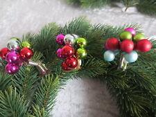 Weihnachtskugeln, Glas, auf Clip, Weihnachten, Christbaumschmuck