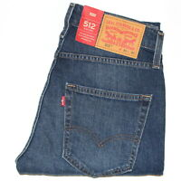 Levi's 512™ Slim Taper Fit Stretch Jeans W29-36in L30-34 RRP £95 *ClearOut Sale*