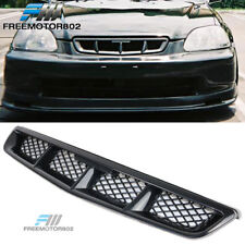 Fits 99-00 Honda Civic MUG Style Front Bumper Grille Grill Mesh