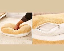 Shell Dog Cat Pet Sleeping Bed Bag House Kitty Hamburger Warm Hiding USA SELLER!