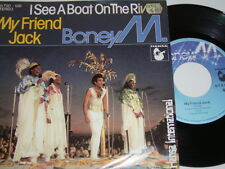"7"" - Boney M. My Friend Jack & I see a Boat on the River - 1980 # 1718"