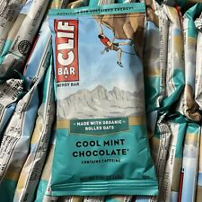 58 CLIF Bar Assorted Energy Protein Bars Cool Mint Chocolate Organic