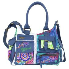 Desigual Bols London Floreada Carry Umhängetasche Handtasche Damentasche Tasche