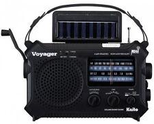 5-way Powered Emergency AM/FM/SW NOAA Weather Alert Radio with Solar,Dynamo and