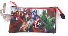 Marvel Avengers Assemble Age Of Ultron 3 Compartment 3D Pencil Case NWT