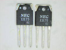 """2SK875 """"Original"""" NEC MOSFET  Transistor  2  pcs"""