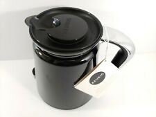 Keurig Replacement Carafe Black with Chrome Handle Brand New