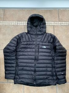 The North Face Down Jacket Hooded 800 Black Men's Medium Excellent