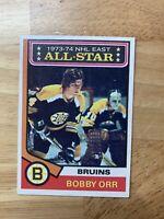 1974 Bobby Orr #130 All-Star Boston Bruins