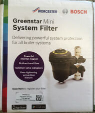 Worcester Greenstar mini system filter