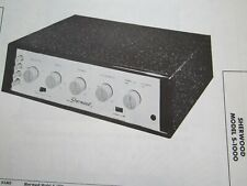 SHERWOOD S-1000 AMP AMPLIFIER PHOTOFACT