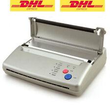 DE Stock Tattoo Stencil Transfer Flash Copier Thermal Hectograph Printer Machine