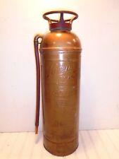 Pyrene Fire Extinguisher Foam Vintage Copper