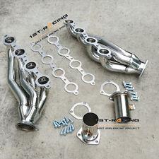 Turbo Exhaust Manifold Headers for Chevy LS1 LS2 LS6 LSX V8 4.8L 5.3L 5.7L 6.0L