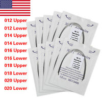100pcs Dental Orthodontic Super Elastic Ovoid Form Niti Round Arch Wires