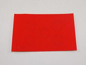 Pocher 1:8 Aufkleber rot Alfa Romeo 8C 2300 Dinner Jacket 1932 K92 XK N19