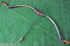 45 LBs Handmade Recurve Bow Attila Mongolian Longbow Archery Hunting Bows