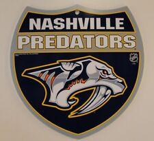 Nashville Predators NHL Interstate Sign
