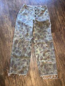 ww2 reversable camo pants field gear US military