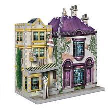 Harry Potter Madam Malkin's & Florean Fortescue's Ice Cream 3D Jigsaw Puzzle