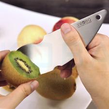 Stainless Steel Kiwi 2-in-1 Easy Peelers Cutter Knifes Fruit Pulp Spoon Kitchen