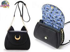 Sailor Moon Shoulder Bags Women Samantha Vega Luna Cosplay PU Leather Handbags