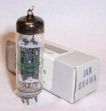 NEW IN BOX JAN GENERAL ELECTRIC 6X4WA RECTIFIER TUBE - 6X4 / EZ90 VALVE