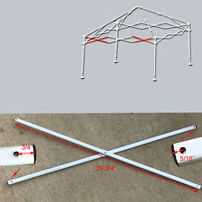 "Ozark Trail Coleman First Up 10' X 10' Canopy SIDE TRUSS Bar 39 3/4"" Parts White"
