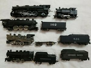 LOT of VTG HO LIONEL, ATHEARN 4-6-2 - MEHANO? 0-6-0,MISC. 0-6-0 & 0-4-0 - REPAIR