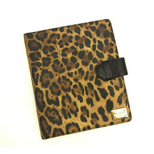 Dolce&Gabbana iPad case Black Brown Woman unisex Authentic Used Y5738