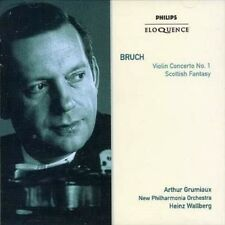 Bruch Violin Concerto No 1 Scottish F 0028947684855 CD
