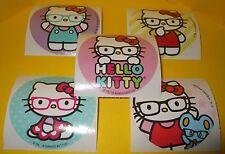 "HELLO KiTTY Sanrio STiCKERS Eye Glasses EYEGLASSES~Glasses Collection~Round 2.5"""