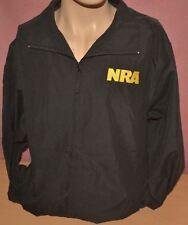 NRA National Rifle Association Black Eagle WindBreaker/Jacket Size Medium