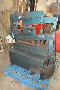 Scotchman 314L 240V 35 Ton Iron Worker, Metal Worker, Punch, Angle Shears GWO