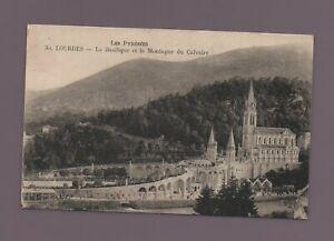 LOURDES - La basilique (C8914)