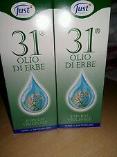 JUST OLIO 31 2 confezioni da 75 ml