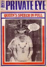 PRIVATE EYE 703 - 25 Nov 1988 - QUEEN'S SPEECH IN FULL