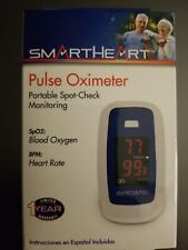 NEW! Smart Heart Pulse Oximeter. Portable spot checking and monitoring.