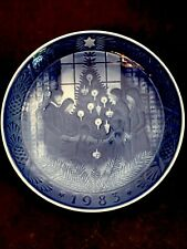 "Royal Copenhagen Annual Plate 1983 Merry Christmas 7"" Hanging Plate"
