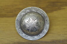 Two * Vintage * Sterling * Silver * Conchos