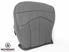99-00 Ford F-150 Lariat Super-Cab 4x4 2WD -Driver Bottom Leather Seat Cover GRAY
