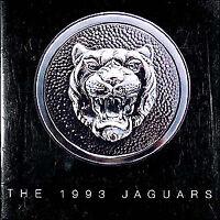 1993 Jaguar Sales Catalog 93 XJ6 XJ 6 S XJS XJR XJRS Vanden Plas Color Brochure