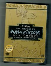 Walt Disney THE EMPEROR'S NEW GROOVE ULTIMATE COLLECTOR'S EDITION DVD 2-Disc set