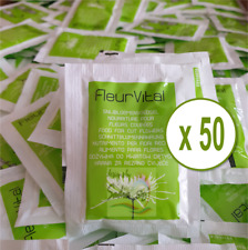 Pack of 50 Florist Quality Fresh Cut Flower Food Sachet (Buy 3 Get 1 Free)